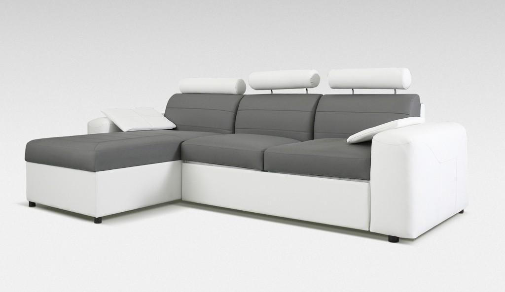 Rohová sedací souprava Rohová sedačka rozkládací Mega-L levá(cayenne 1115/cayenne 1119)