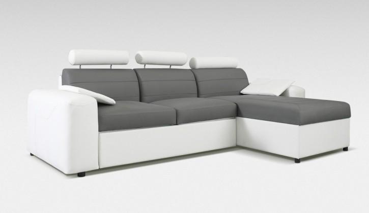 Rohová sedací souprava Rohová sedačka rozkládací Mega-L pravá (cayenne1115/cayenne1119)
