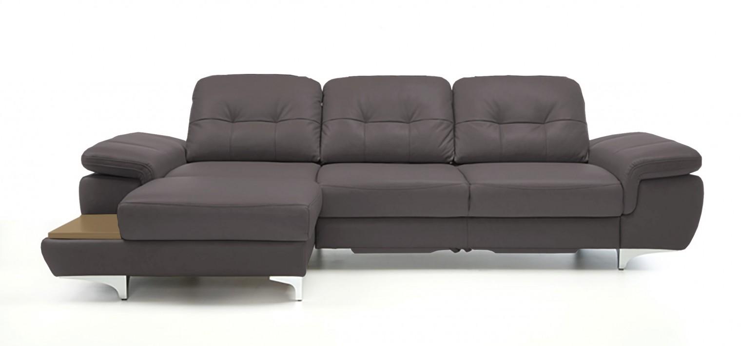 Rohová sedací souprava Rohová sedačka rozkládací Move levý roh (dub/eko kůže)