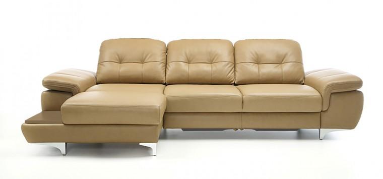Rohová sedací souprava Rohová sedačka rozkládací Move levý roh (dub/látka)