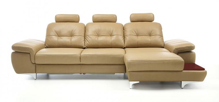Rohová sedací souprava Rohová sedačka rozkládací Move pravý roh, 3xP (mahagon/látka)