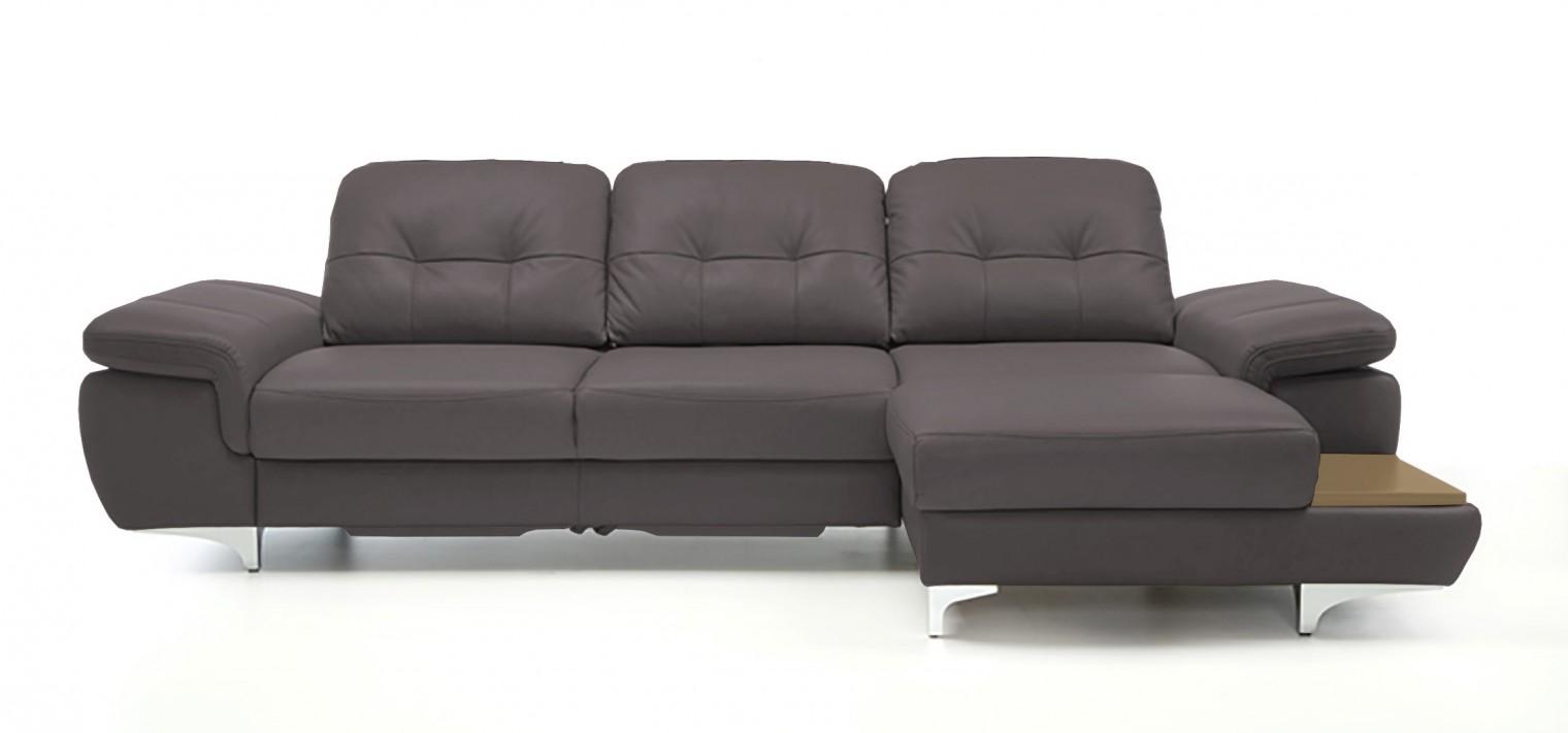 Rohová sedací souprava Rohová sedačka rozkládací Move pravý roh (dub/eko kůže)