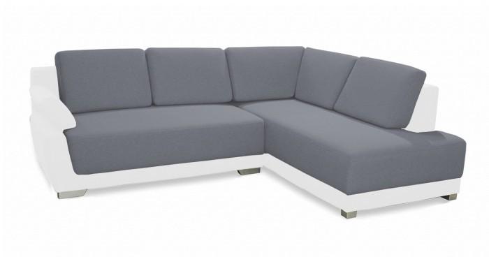 Rohová sedací souprava Rohová sedačka rozkládací Rapid pravý roh (madryt 120/adel 6)