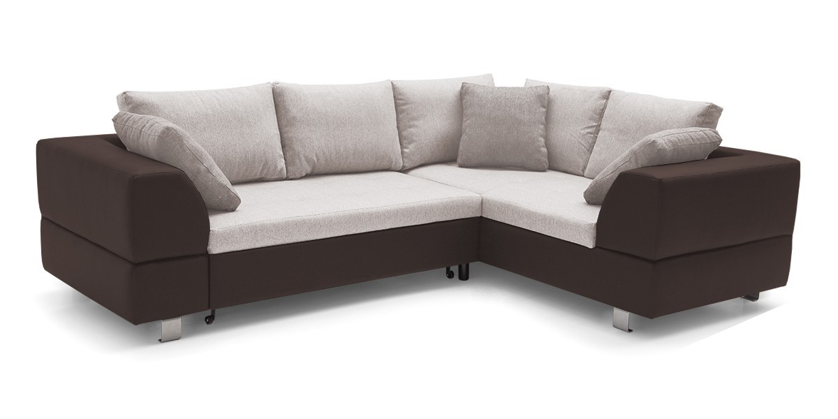 Rohová sedací souprava Rohová sedačka rozkládací Ravenna 2 pravý roh (korpus - soft 66)