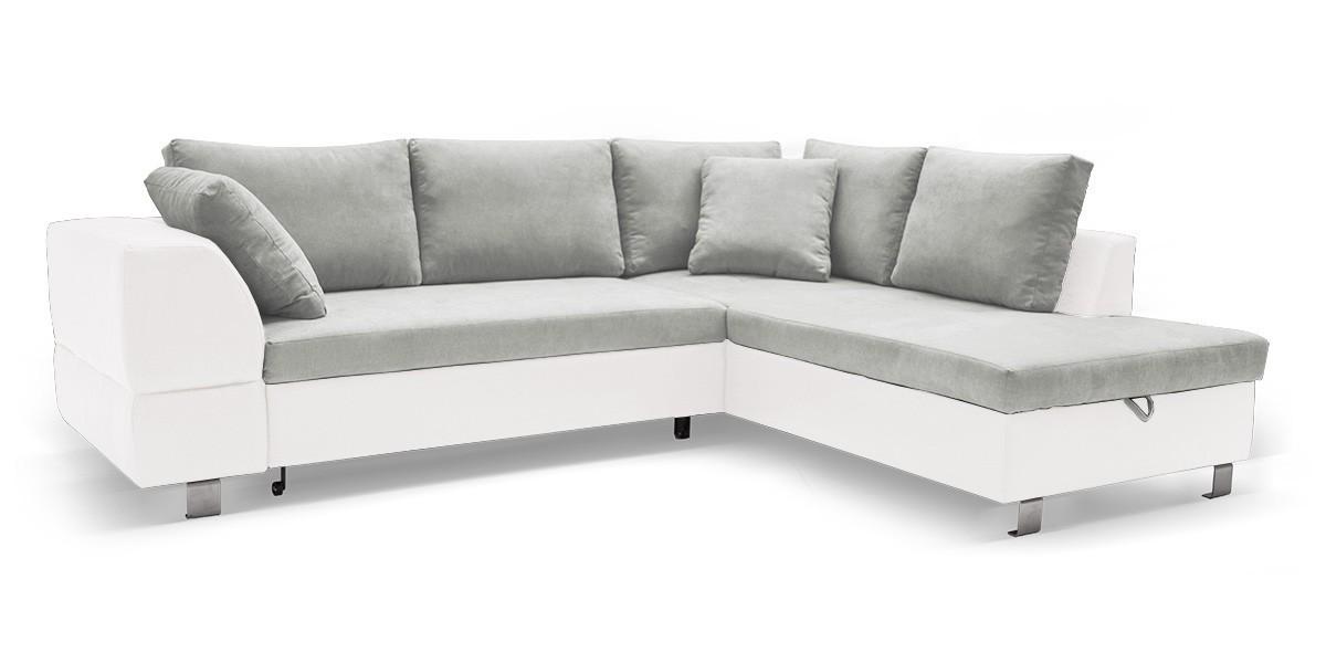 Rohová sedací souprava Rohová sedačka rozkládací Ravenna pravý roh (korpus - soft 17)