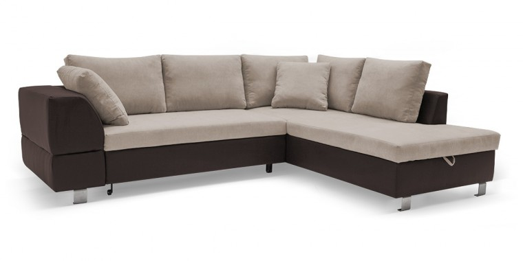Rohová sedací souprava Rohová sedačka rozkládací Ravenna pravý roh (korpus - soft 66)