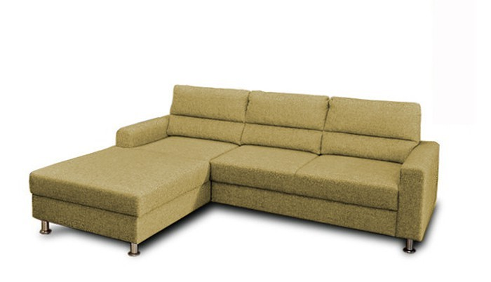 Rohová sedací souprava Rohová sedačka rozkládací Seven levý roh (látka)