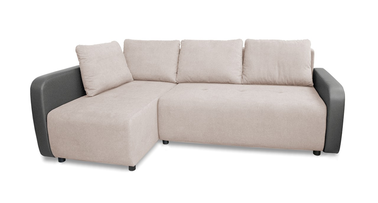 Rohová sedací souprava Rohová sedačka rozkládací Siena levý roh (korpus-bella 13,látka)