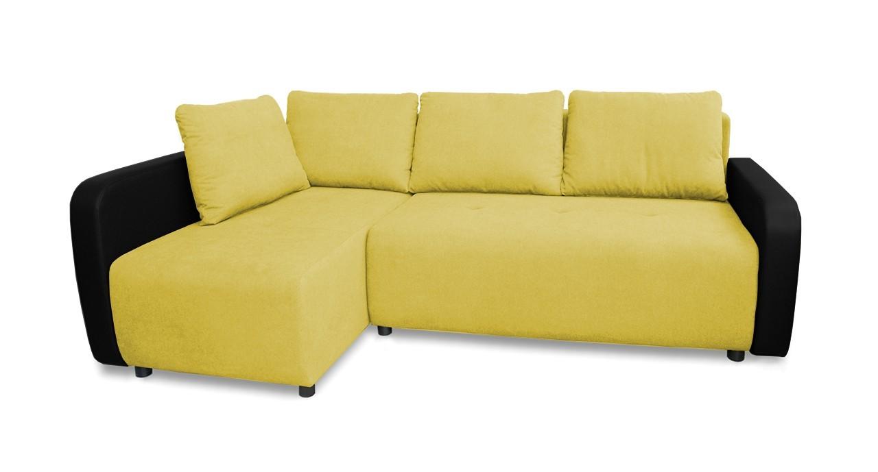 Rohová sedací souprava Rohová sedačka rozkládací Siena levý roh (korpus-bella 15,látka)