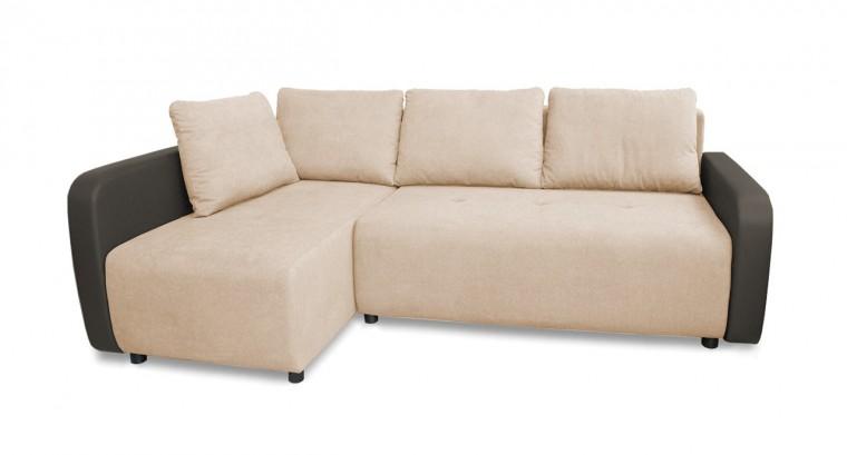 Rohová sedací souprava Rohová sedačka rozkládací Siena levý roh (korpus-madryt new 195)