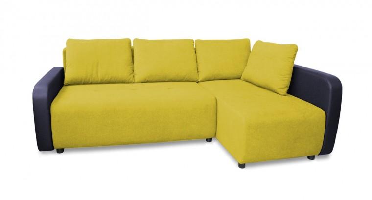 Rohová sedací souprava Rohová sedačka rozkládací Siena pravý roh (područky-madryt 180)