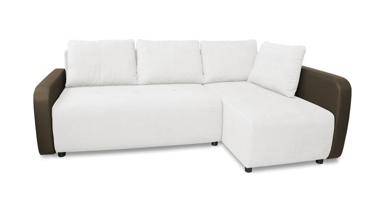 Rohová sedací souprava Rohová sedačka rozkládací Siena pravý roh (područky-madryt 194)