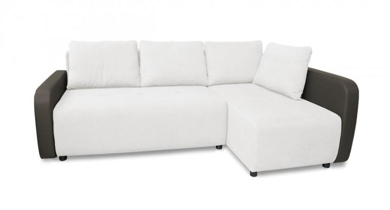 Rohová sedací souprava Rohová sedačka rozkládací Siena pravý roh (područky-madryt 195)