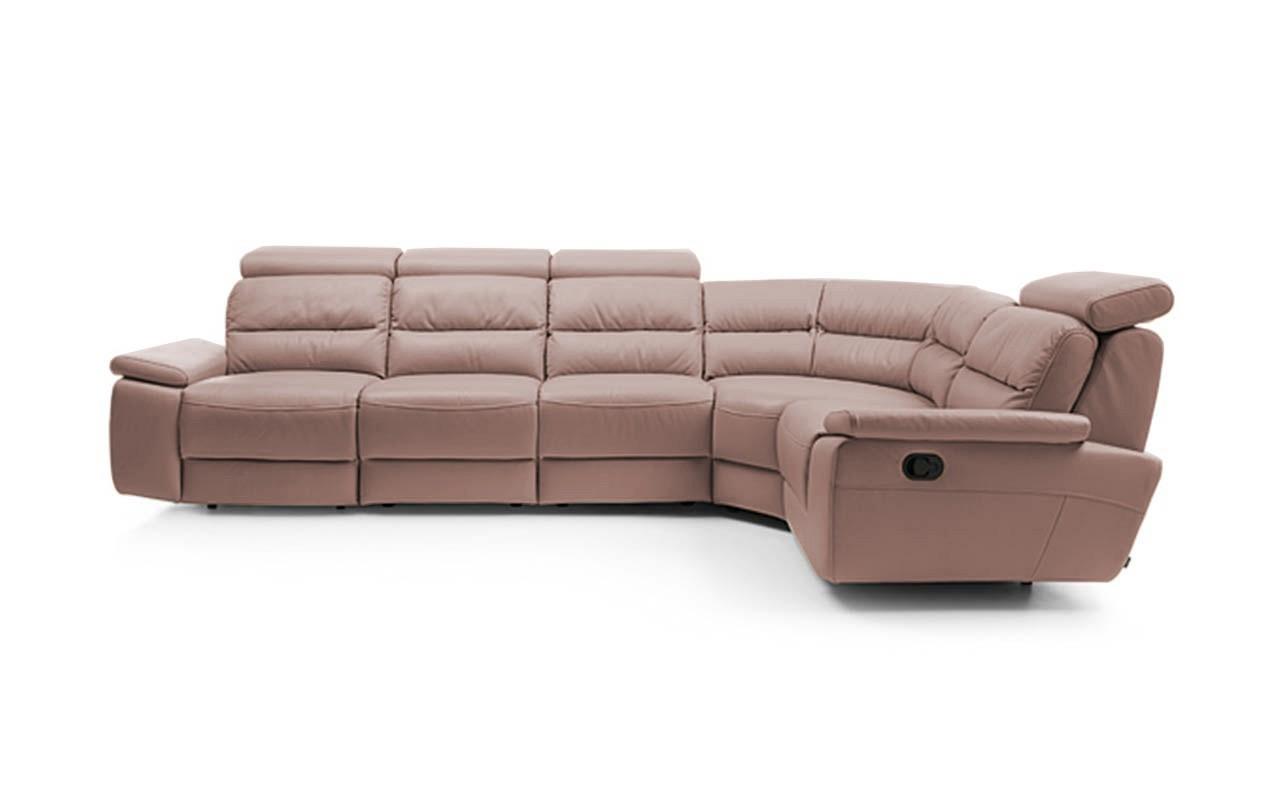 Rohová sedací souprava Rohová sedačka rozkládací Stella pravý roh (eko kůže)