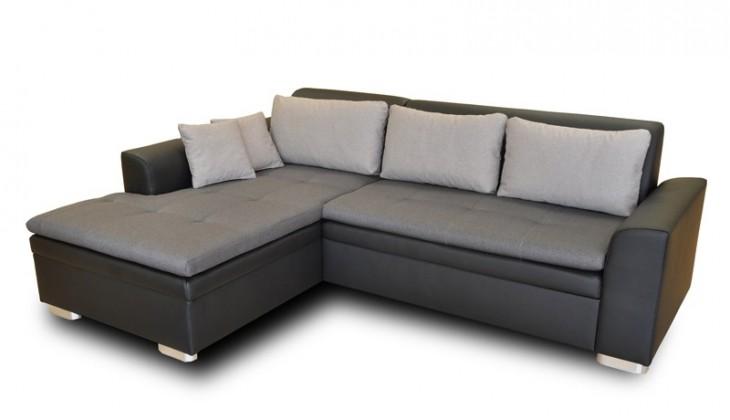 Rohová sedací souprava Rohová sedačka rozkládací Vanilla levý roh (L35/M1100/L15)