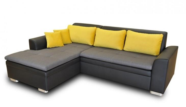 Rohová sedací souprava Rohová sedačka rozkládací Vanilla levý roh (L35/M1100/T2329)