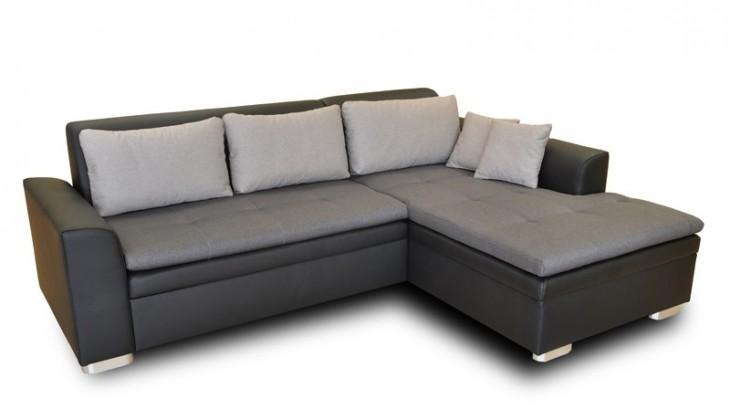 Rohová sedací souprava Rohová sedačka rozkládací Vanilla pravý roh (L35/M1100/L15)