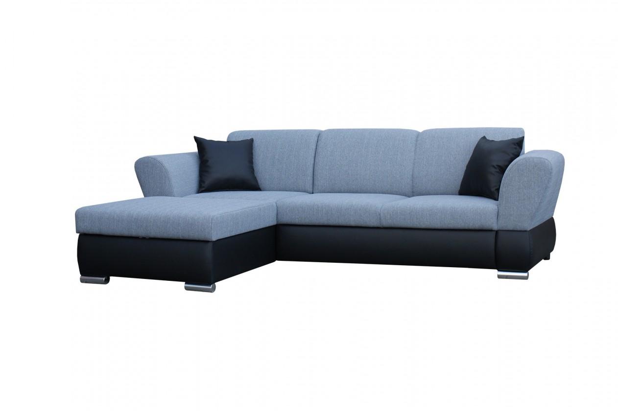 Rohová sedací souprava Rohová sedačka rozkládací Viva levý roh (dolaro D1/portland 90)