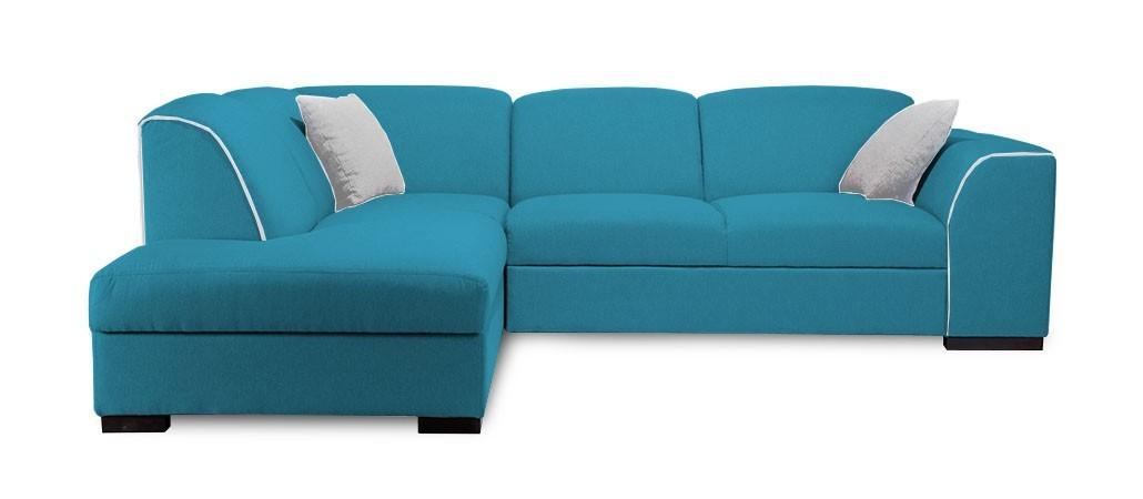 Rohová sedací souprava Rohová sedačka rozkládací West levý roh (orinoco 85/soft 17)