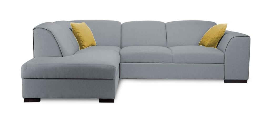 Rohová sedací souprava Rohová sedačka rozkládací West levý roh (orinoco 96/soft 11)