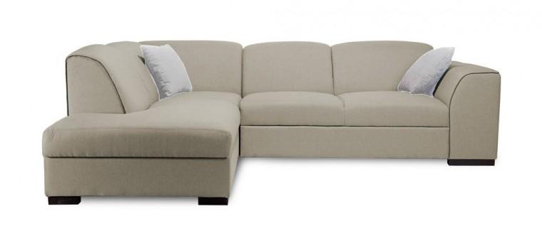 Rohová sedací souprava Rohová sedačka rozkládací West levý roh (orinoco24/cayenne1118)