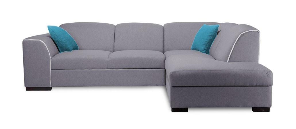Rohová sedací souprava Rohová sedačka rozkládací West pravý roh (baku 4/soft 17)
