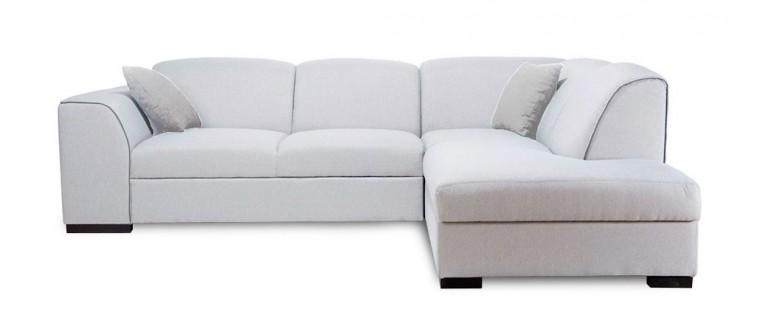 Rohová sedací souprava Rohová sedačka rozkládací West pravý roh (orinoco 21/soft 66)