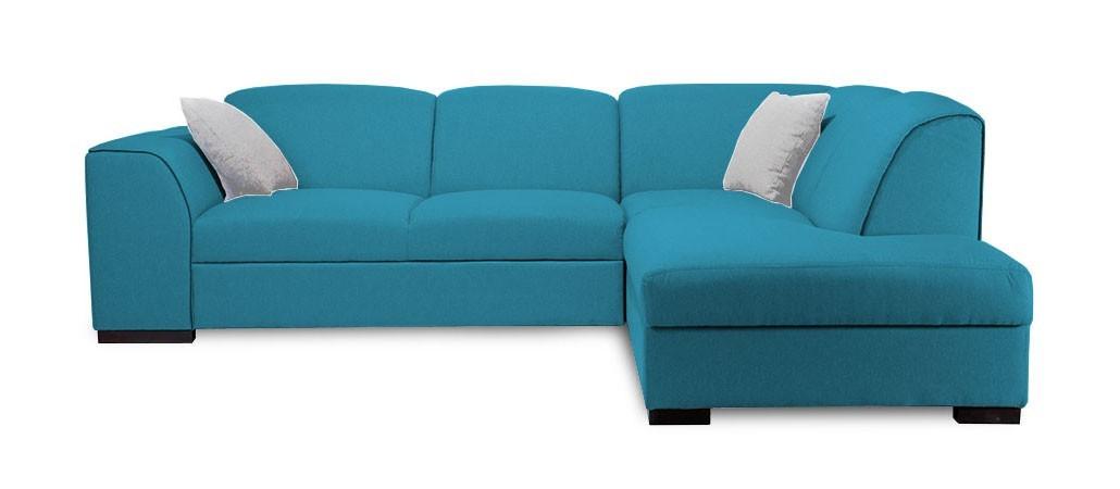 Rohová sedací souprava Rohová sedačka rozkládací West pravý roh (orinoco 85/soft 11)