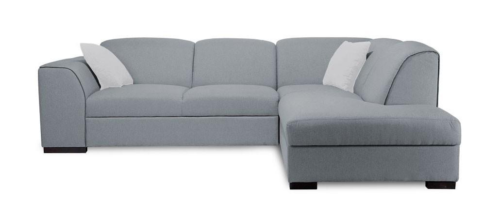 Rohová sedací souprava Rohová sedačka rozkládací West pravý roh (orinoco 96/soft 66)