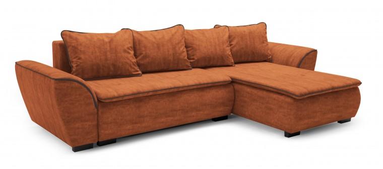 Rohová sedací souprava Rohová sedačka rozkládací Zak univerzální roh(paspule-caye.1118)