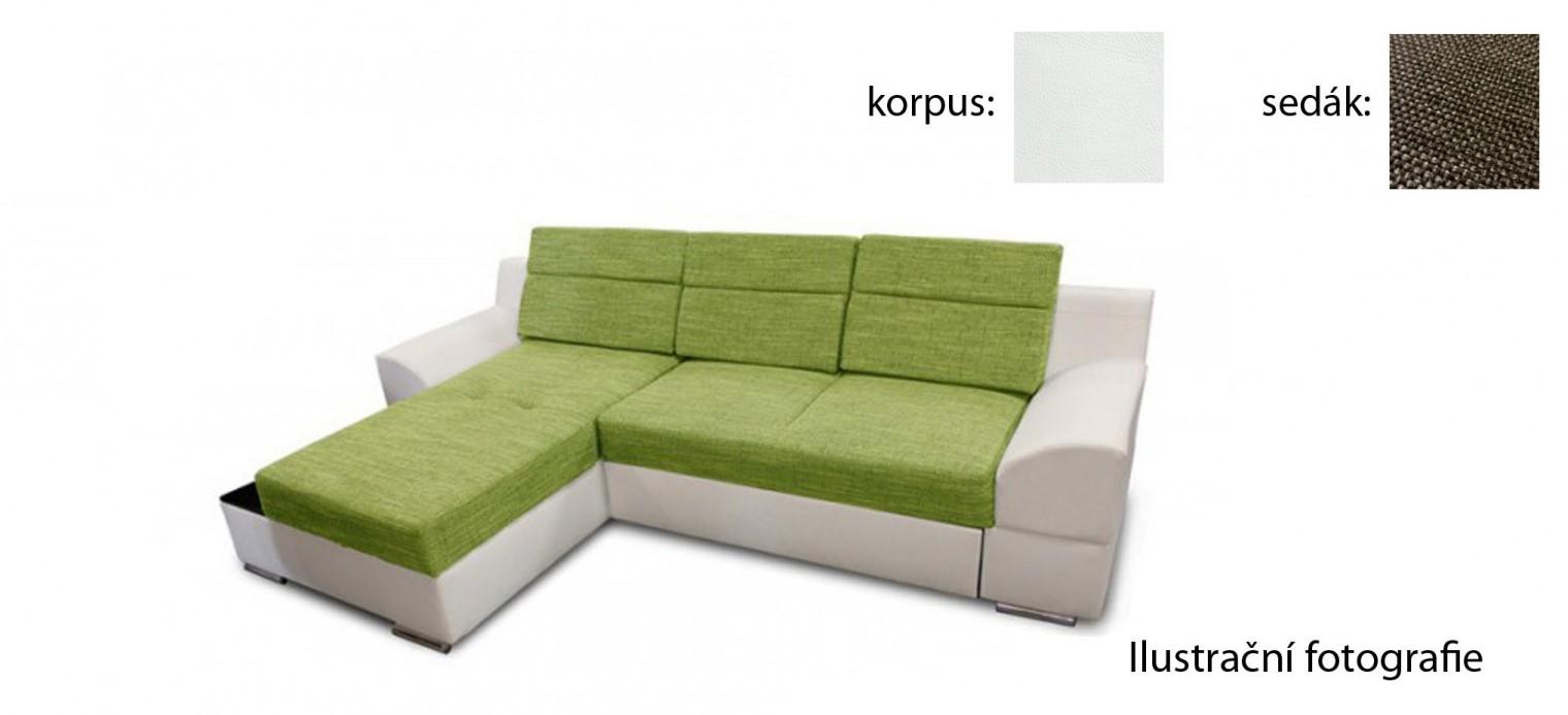 Rohová sedací souprava Tiscali - roh levý (inari 27/giovani 1)