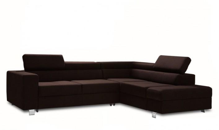 Rohová sedačka rozkládací Enzo pravý roh (látka)