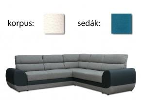 Rohová sedačka rozkládací Long levý roh (palermo 2502/lana 85)