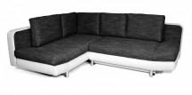 Rohová sedačka rozkládací Look levý roh (soft 17/balaton 95)