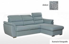 Rohová sedačka rozkládací Mediolan pravý roh - II. jakost