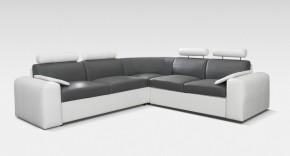 Rohová sedačka rozkládací Mega-XL levý roh