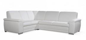Rohová sedačka rozkládací Nuuk levý roh 2SBL+R+3FBP (eko kůže)