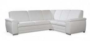 Rohová sedačka rozkládací Nuuk pravý roh 3FBL+R+2SBP (eko kůže)