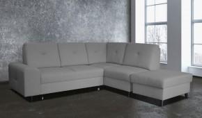 Rohová sedačka rozkládací Silver pravý roh ÚP šedá
