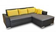Rohová sedačka rozkládací Vanilla pravý roh (L35/M1100/T2329)