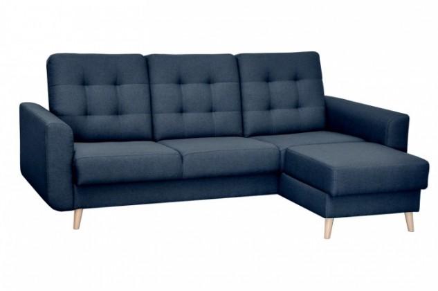 Rohové Rohová sedačka rozkládací Avanti pravý roh ÚP modrá