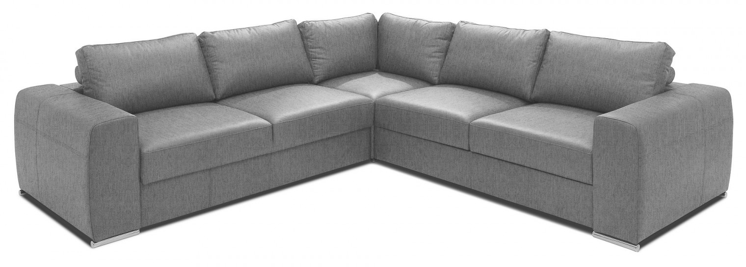 Rohové Rohová sedačka rozkládací Biblio levý roh ÚP šedá