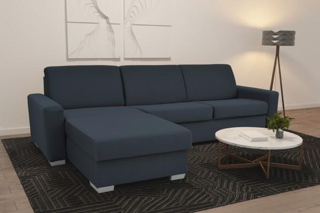 Rohové Rohová sedačka rozkládací Leka levý roh ÚP modrošedá