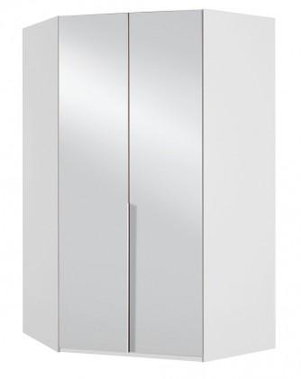 Rohové Rohová skříň NewYork42 - 120/208/120 (alpská bílá)