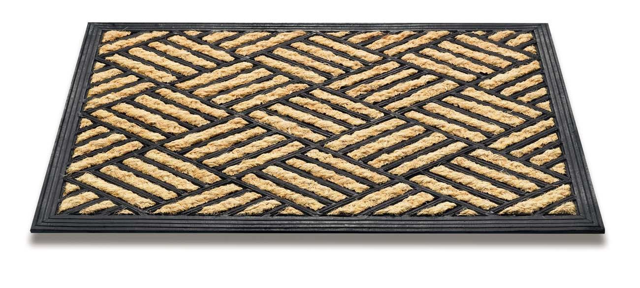Rohožka - Boucara checker, 40x60 cm (béžová)
