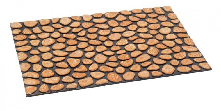 Rohožka - Ecomat, 46x75 cm (letokruhy)