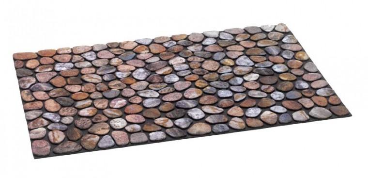 Rohožka - Ecomat Pebble beach, 40x60 cm (kamínky)