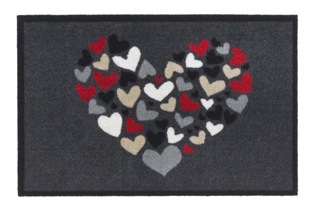 Rohožka - Impression, 40x60 cm (srdce)