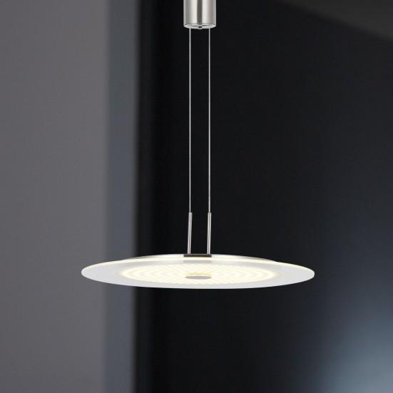 Roma - Stropní osvětlení, LED (nikl)