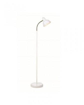 Rönnäng - Lampa podlahová (kov/kov/bílá)